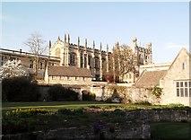 SP5105 : Christ Church from Christ Church Gardens, Oxford by Robin Sones