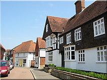TQ6349 : Church Street, Hadlow, Kent by Mike Gentry