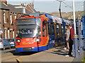 SK3289 : Sheffield Supertram arriving at Malin Bridge by Alan Murray-Rust