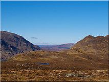 NN5166 : View towards Creag a' Chais by William Starkey