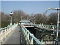 TQ1775 : Richmond Lock & Weir by Paul Gillett