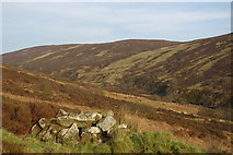 NR9530 : Shieling in Clauchan Glen by Leslie Barrie