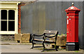 "J2458 : ""Penfold"" pillar box, Hillsborough by Albert Bridge"