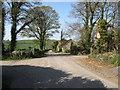 J1539 : Cross roads on Cavehill Lane by Eric Jones