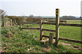 SJ6347 : Stile on the South Cheshire Way by Espresso Addict
