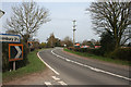 SJ6247 : Bends in the A530 at Broomhall Green by Espresso Addict