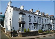 SH5638 : Bank Place houses, Porthmadog by Jaggery