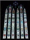 NS6065 : Scottish Regiments memorial window, Glasgow Cathedral by kim traynor
