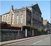 SH5638 : Grade II listed former Garth Welsh Calvinistic Methodist Chapel, Porthmadog by Jaggery