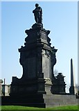 NS6065 : William McGavin Monument on the Necropolis by kim traynor