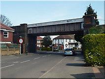TQ2469 : Railway bridge 6 SMS2 by Robin Webster