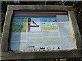TL0619 : Information Board, Little Green Pond by Rob Farrow