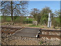 TQ9197 : Foot crossing over railway by Roger Jones