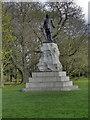 SJ8189 : Wythenshawe Park, Oliver Cromwell Statue by David Dixon