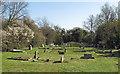 TQ8497 : Holy Trinity Churchyard by Roger Jones