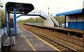 J3574 : Passenger shelters, Bridge End station, Belfast (3) by Albert Bridge