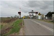 SK8159 : Langford Level Crossing by J.Hannan-Briggs
