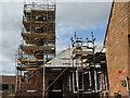 NT5974 : Chimney work at Luggate by M J Richardson