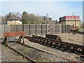 NY7063 : (Former) goods yard, Haltwhistle station by Mike Quinn