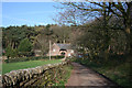 SJ5255 : View towards gatehouse from the Sandstone Trail by Espresso Addict