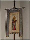 ST5308 : Banner, St Mary's Church by Maigheach-gheal