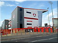 SO8319 : Club shop and Shogun Bar, Kingsholm Stadium, Gloucester by Jaggery