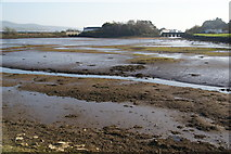 SH5738 : Tidal basin on Afon Glaslyn by Bill Boaden