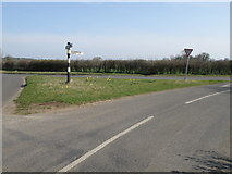 TL0393 : A road junction in Northamptonshire by Michael Trolove