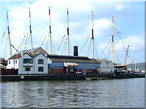 ST5772 : The Floating Harbour by Thomas Nugent