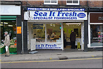 "SJ8588 : ""Sea It Fresh"" open on Good Friday by Geoff Royle"