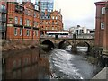 SK3587 : River Don at Sheffield by Paul Gillett