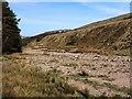 NT9320 : Flood plain of Harthope Burn near Langleeford Hope by Andrew Curtis