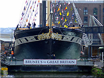 ST5772 : Brunel's SS Great Britain by Thomas Nugent
