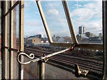 SU1484 : Swindon Through the Window by Des Blenkinsopp