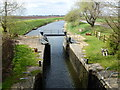 TF4801 : Lock on The River Nene (Old course) near Upwell by Richard Humphrey