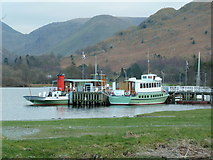 NY3916 : The pier at Glenridding Steamers by Alexander P Kapp