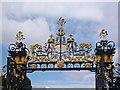 ST2885 : Edney Gates (detail), Tredegar House by Robin Drayton
