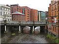 SK3587 : Lady's Bridge, River Don by David Dixon