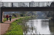 SS9612 : Tiverton : Grand Western Canal & William Authors Bridge by Lewis Clarke