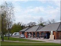 ST2885 : Former craft workshops, Tredegar House, Newport by Robin Drayton