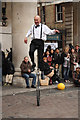 TQ3080 : Street entertainment by Richard Croft