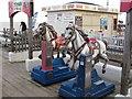 TM2933 : Seaside horse ride amusement by Roger Jones