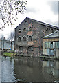 SK3788 : Canalside Warehouse by Anne Burgess