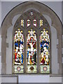 TM3961 : Window of St.Mary Magdalene Church, Sternfield by Adrian Cable