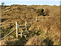 SS8676 : Stile at Merthyr Mawr Warren by eswales