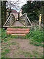 TL1738 : Footbridge into Henlow by Philip Jeffrey