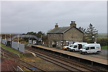 ND1559 : Georgemas Junction station by Roger Davies