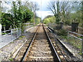 TQ2669 : Tramlink route alongside Morden Hall Park by Marathon