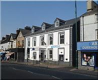 SH5638 : Barclays Bank, Porthmadog by Jaggery