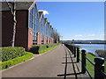 NZ2263 : Walking east to Newcastle by Ian S